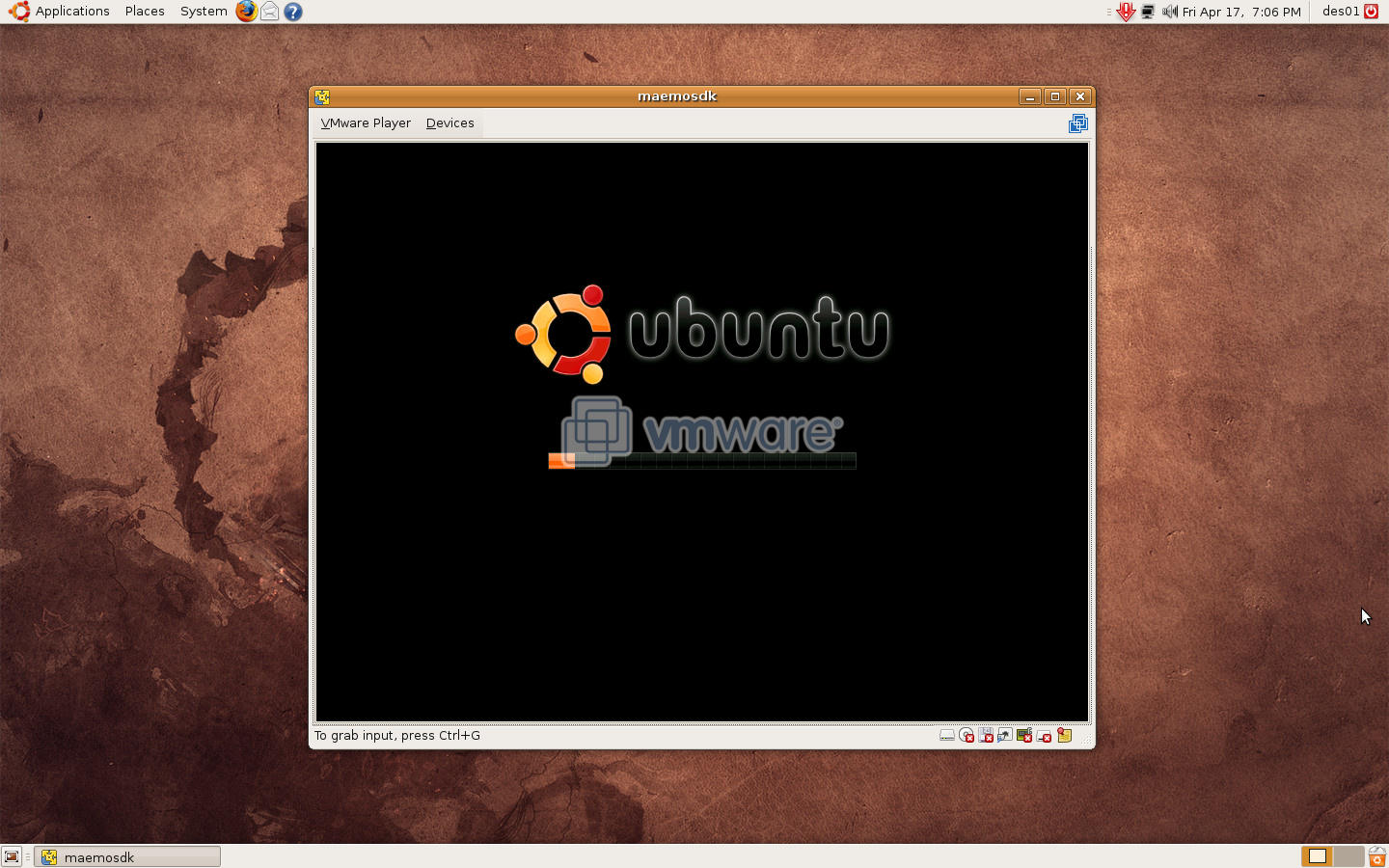 vmware linux free